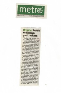 article Metro Tchequie